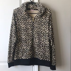 Juicy couture animal print hoodie